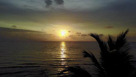 Petit coucher du soleil à Nécocli